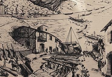 """Una """"cosina storica""""… galeas per montes – Navi sulle montagne"""