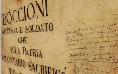 Oggi, 1882, nasceva Umberto Boccioni